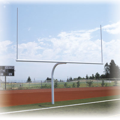 Permanent Gooseneck Goal Post
