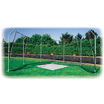 Cantilevered Discus Cage