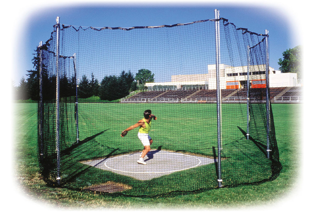 Discus Track And Field Track High School Discus Cage