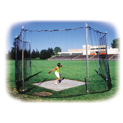 Track High School Discus Cage