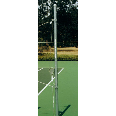 Outdoor Volleyball End Standard with Winch