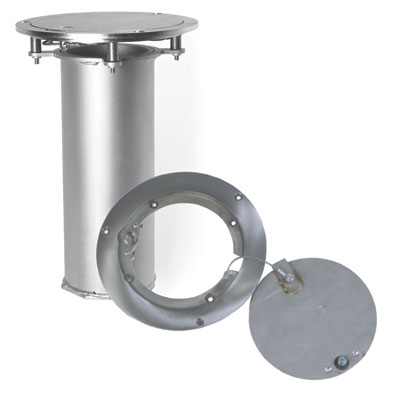 "3.5"" Stainless Steel Floor Plate & Sleeve"